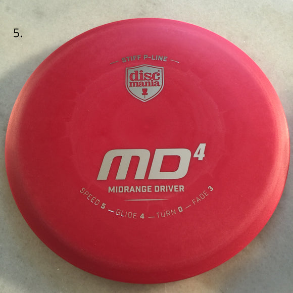 Discmania Stiff P-Line MD4 Red