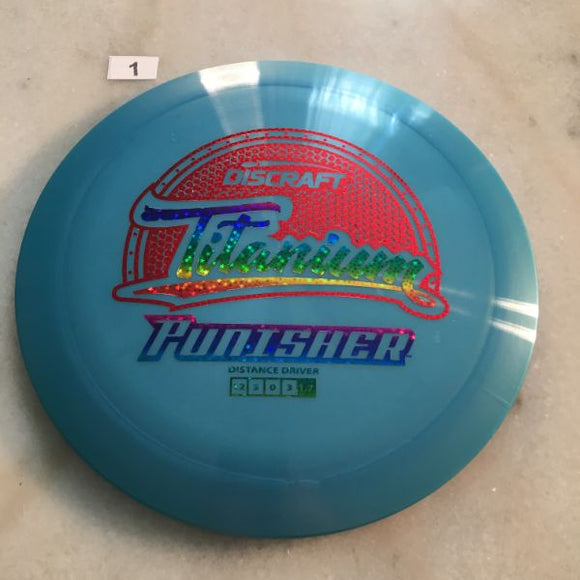 Discraft Titanium Punisher Blue