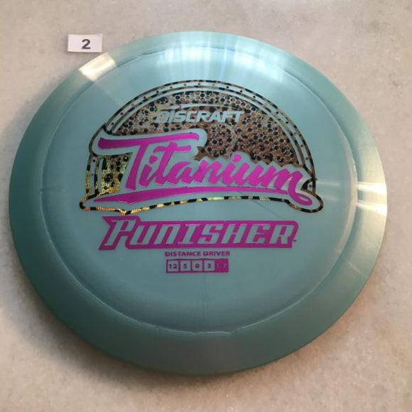 Discraft Titanium Punisher Blue/Green