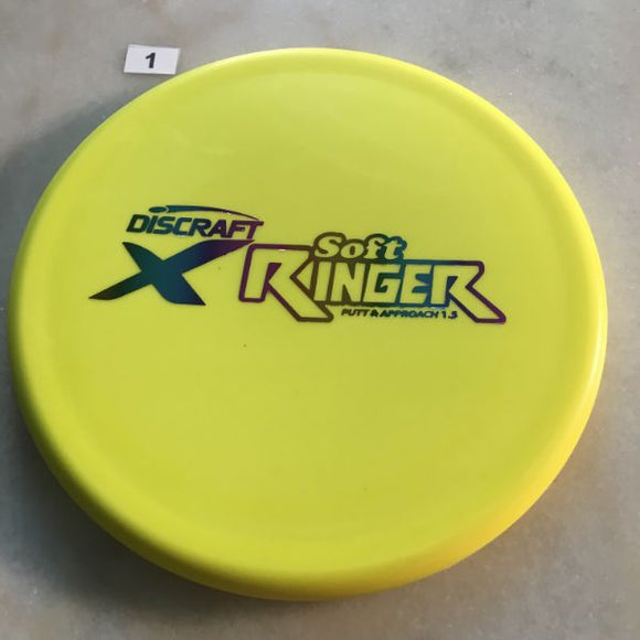 Discraft Soft Elite X Ringer #1 Yellow