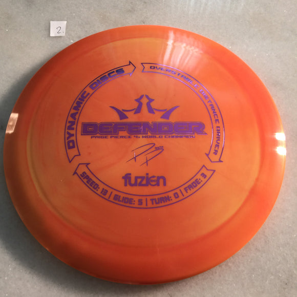 Dynamic Discs BioFuzion Defender Orange