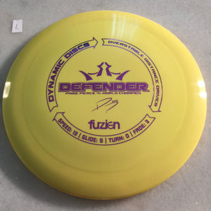 Dynamic Discs BioFuzion Defender Yellow