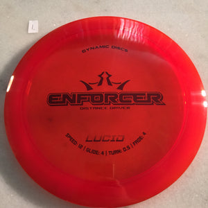 Dynamic Discs Lucid Enforcer Orange