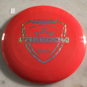 Dynamic Discs Fuzion Freedom White