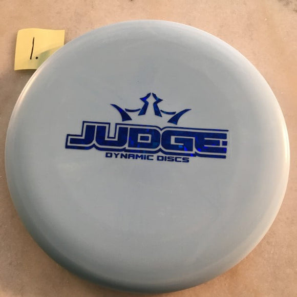 Dynamic Discs Classic Blend Moonshine Judge Blue Glow
