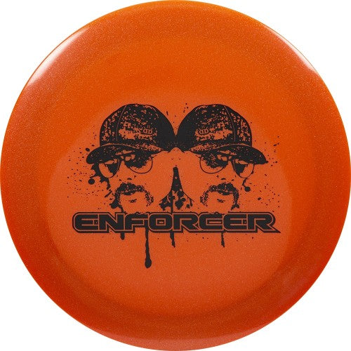 Dynamic Discs Lucid Metallic Enforcer EMAC Mustache