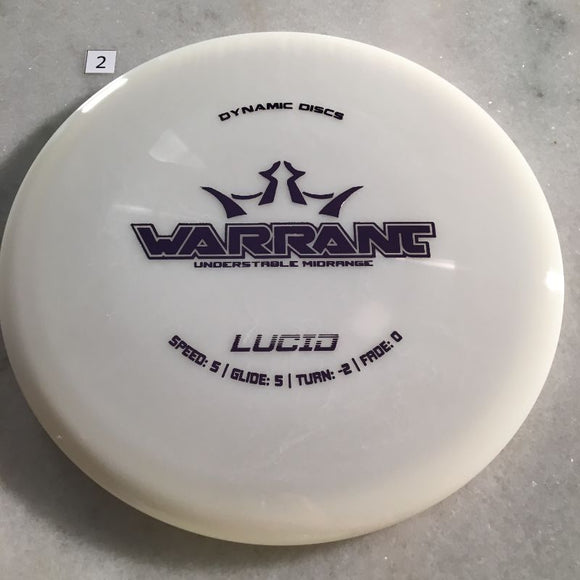 Dynamic Discs Lucid Warrant White #2
