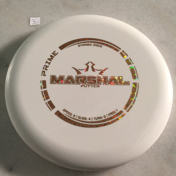 Dynamic Discs Prime Marshal White