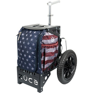Dynamic Discs Stars and Stripes Compact Cart