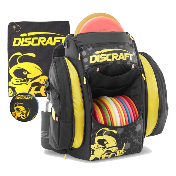 Discraft Grip EQ-BX Buzzz Backpack with Towel and Mini