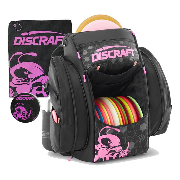 Discraft Grip EQ-BX Buzzz Backpack with Towel and Mini 3