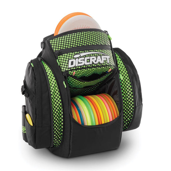 GRIP EQ-Bx2 Discraft Backpack Green/Black