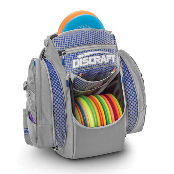 GRIP EQ-Bx2 Discraft Backpack Gray/Blue