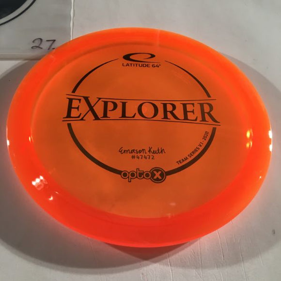 Explorer Opto-X (2020 Team Series)