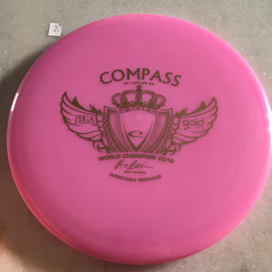Latitude 64 Opto Compass Purple