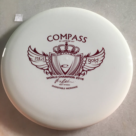 Latitude 64 Opto Compass White