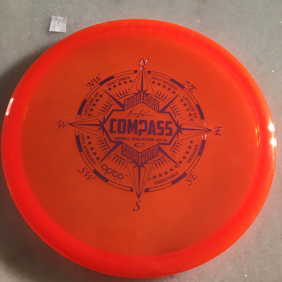 Latitude 64 Opto Compass Orange