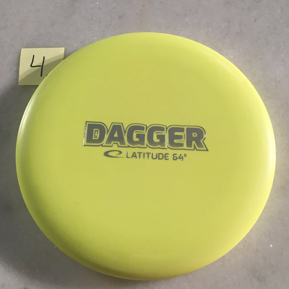 Latitude 64 Zero Hard Dagger Yellow