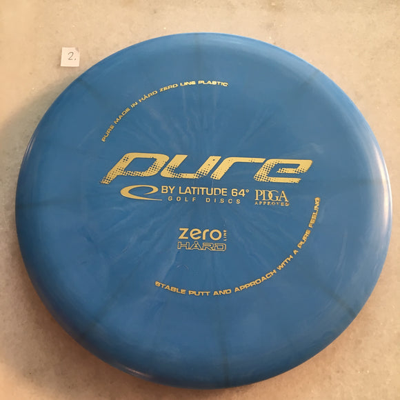 Latitude 64 Zero Hard Pure Blue