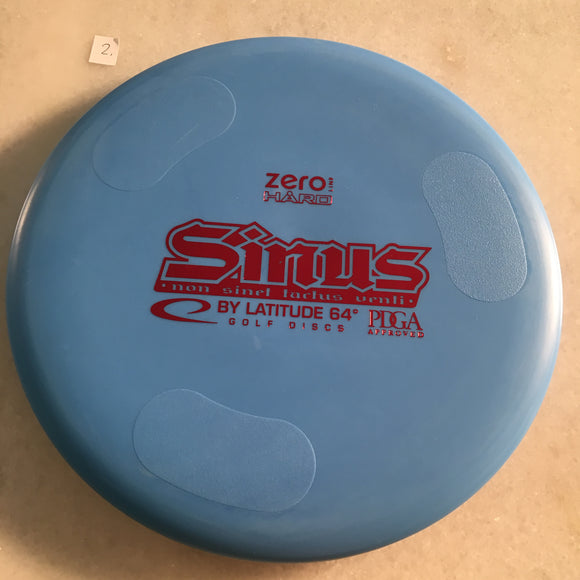Latitude 64 Zero Hard Sinus Blue
