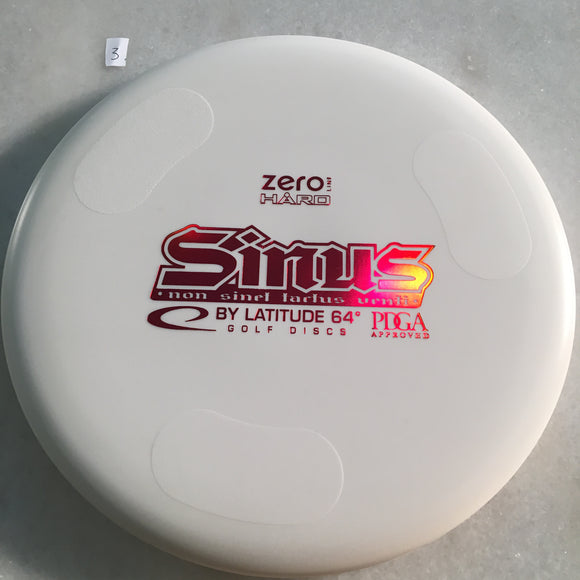Latitude 64 Zero Hard Sinus White