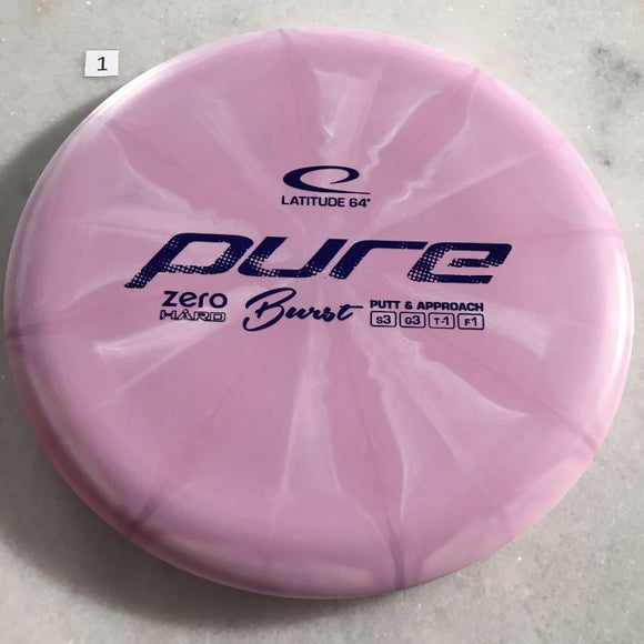 Latitude 64 Zero Hard Burst Pure Purple #1