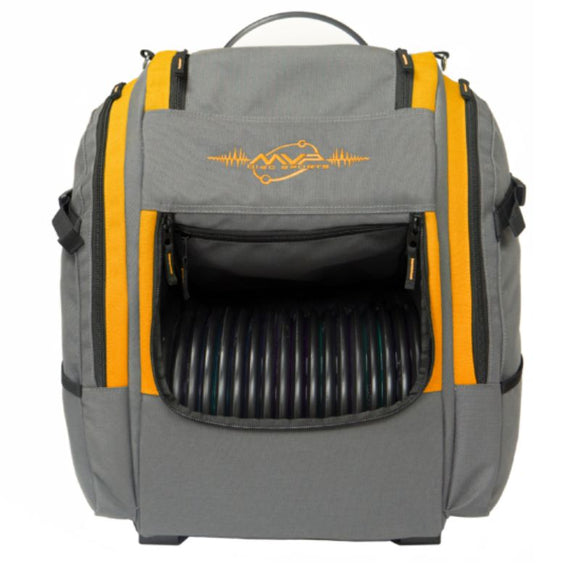 MVP Voyager Pro Gray-Orange Front