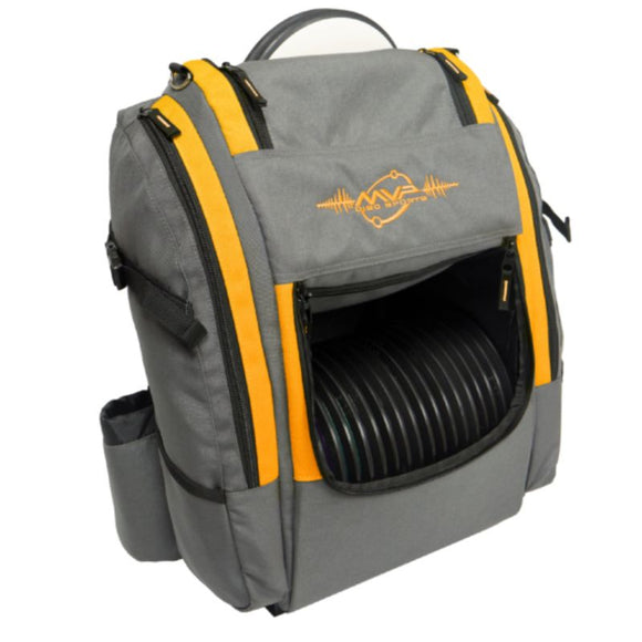 MVP Voyager Pro Gray-Orange Side