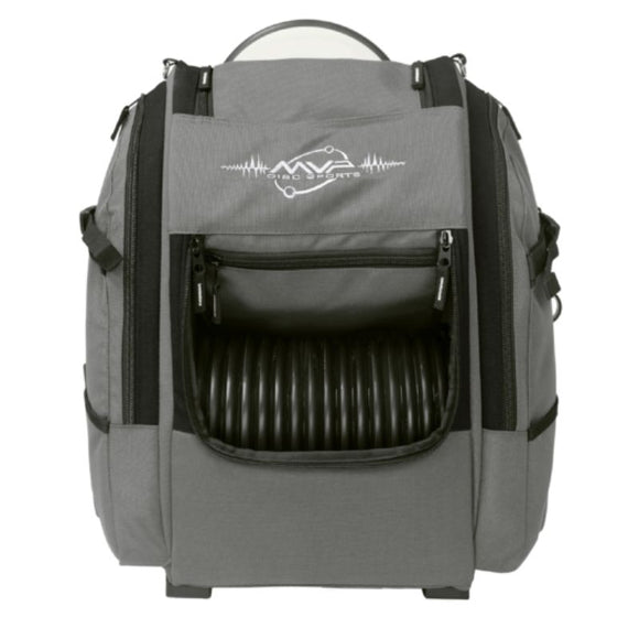 MVP Voyager V2 Backpack Gray-Black Front