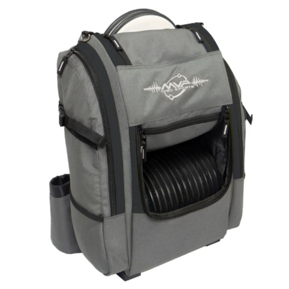 MVP Voyager V2 Backpack Gray-Black Side
