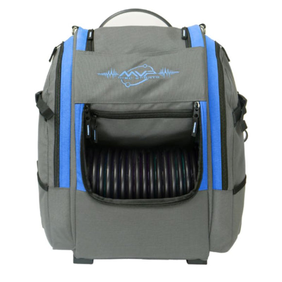 MVP Voyager V2 Backpack Gray-Blue Front