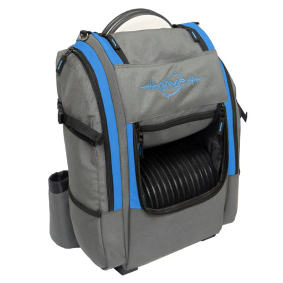 MVP Voyager V2 Backpack Gray-Blue Side