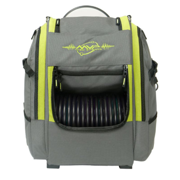 MVP Voyager V2 Backpack Gray-Lime Front