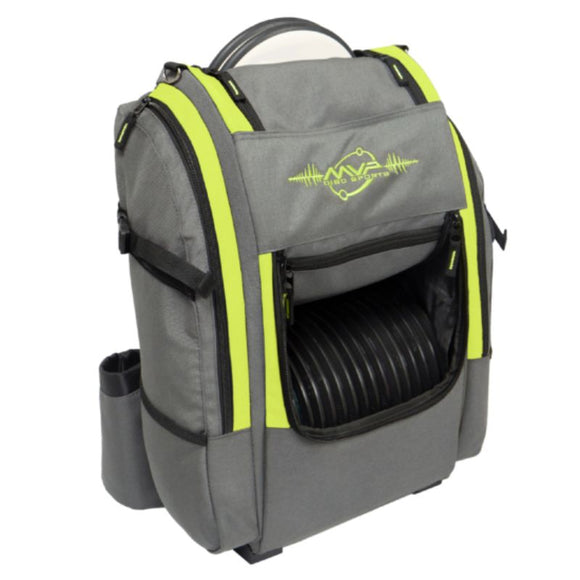 MVP Voyager V2 Backpack Gray-Lime Side