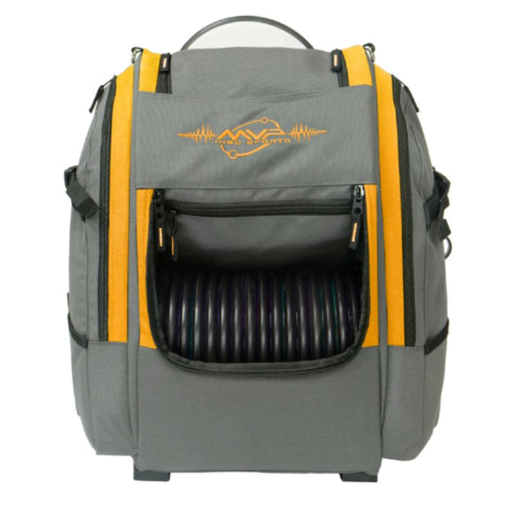 MVP Voyager V2 Backpack Gray-Orange Front
