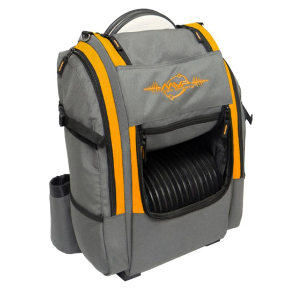 MVP Voyager V2 Backpack Gray-Orange Side