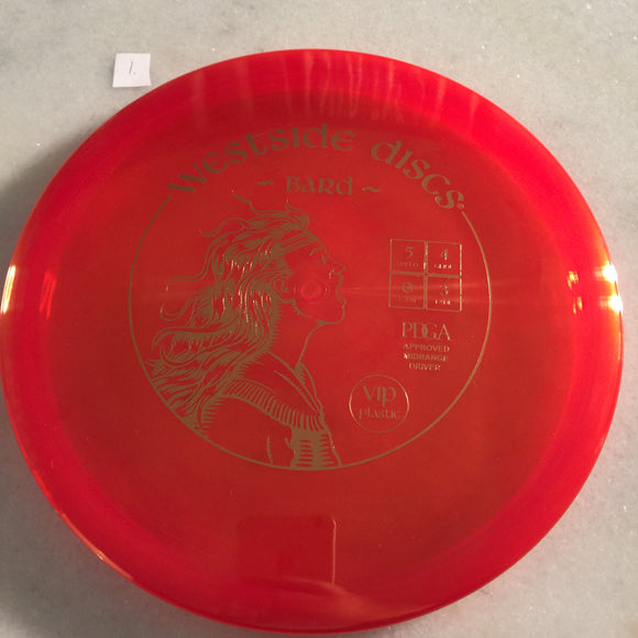 Westside Discs VIP Bard Red