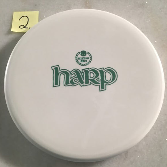 Westside Discs BT Medium Moonshine Harp Bar Stamp Glow White