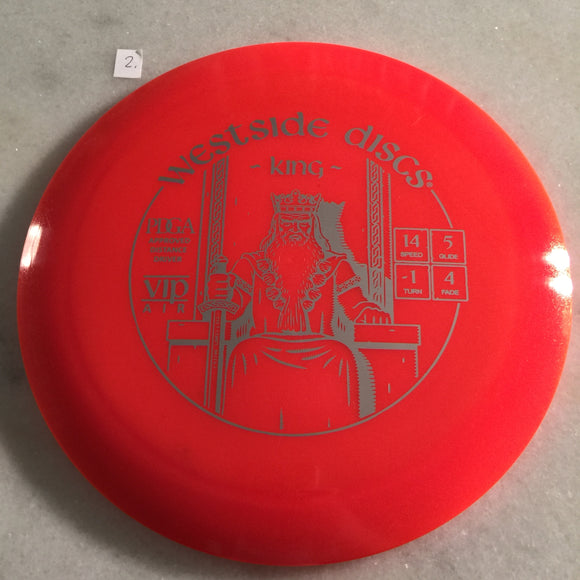 Dynamic Discs VIP Air King Orange