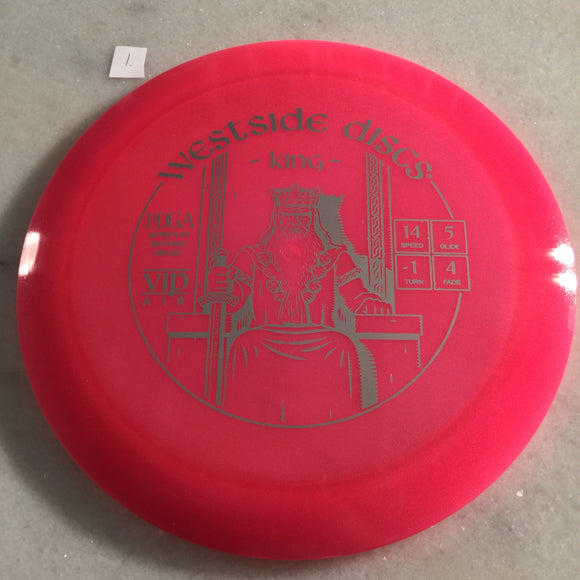 Dynamic Discs VIP Air King Pink