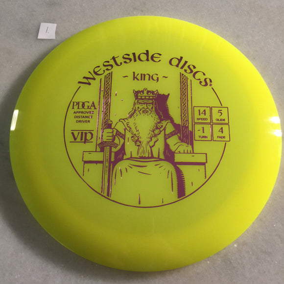 Westside Discs VIP King Yellow