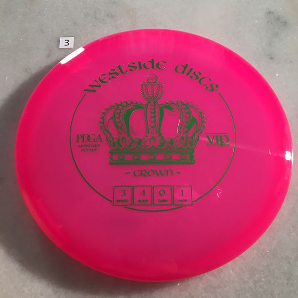 Westside Discs VIP Crown #3 Pink