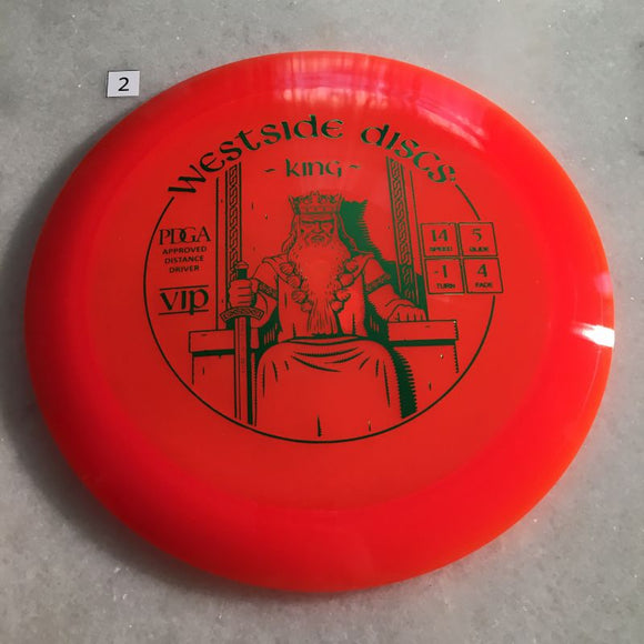 Westside Discs VIP King #2 Orange
