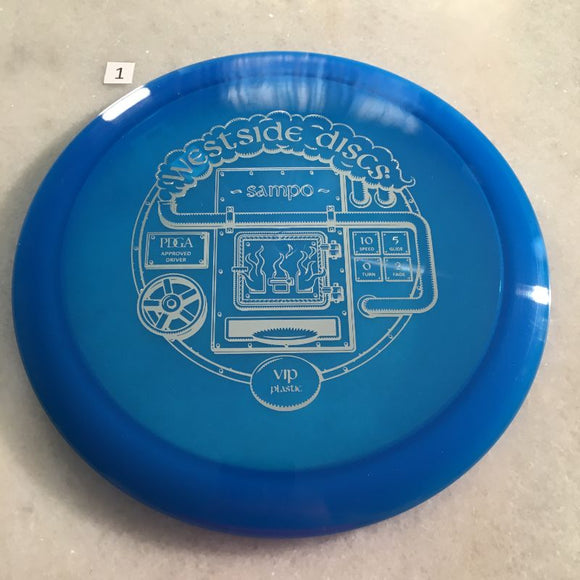 Westside Discs VIP Sampo Blue #1