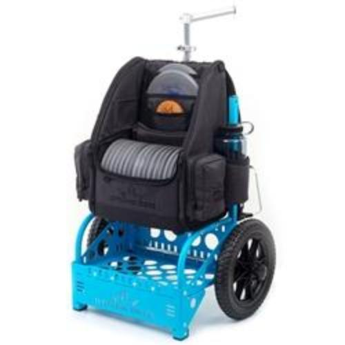 Zuca Disc Golf EZ Cart Blue w/bag