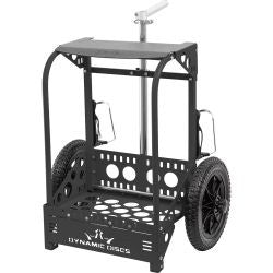 Zuca LG Disc Golf Cart Black
