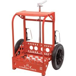 Zuca LG Disc Golf Cart Red
