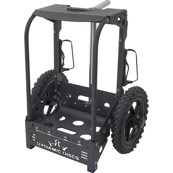 dynamic-discs-backpack-cart-by-zuca-matte-black