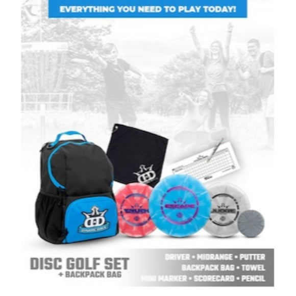Dynamic Discs Cadet Backpack Starter Set What's Included