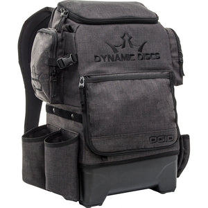 Dynamic Discs Ranger H20 Disc Golf Backpack Heathered Gray